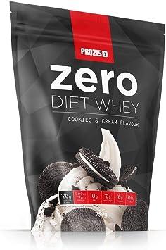 Prozis Zero Diet Whey 750 g Galletas y Crema Control De Peso Deportistas ¡Elige Estar En Forma! Aislado De Proteína De Suero De Leche, Así Como ...