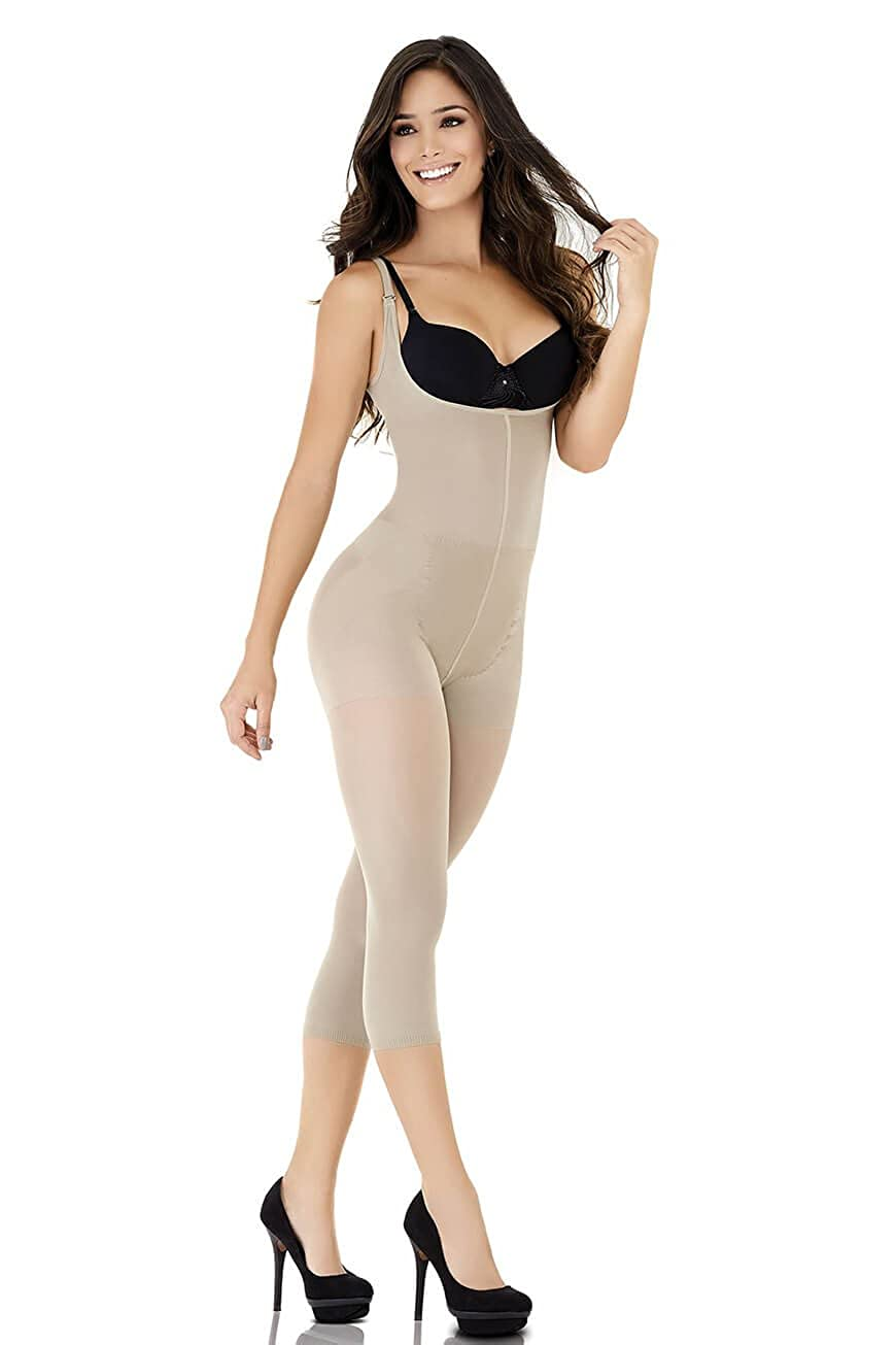 44bade5aa0 MITHESSE Women s Bodysuit Beige beige - Beige - large  Amazon.co.uk   Clothing