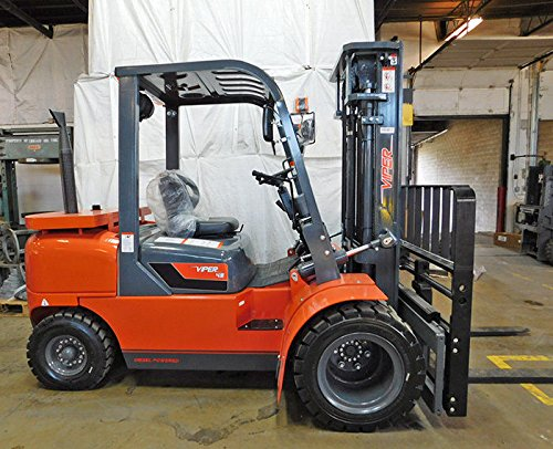 - Brand New 2017 Viper FD45 10000LB Dual Drive pneumatic forklift side shift fork positioner comparable to Hyster, Caterpillar, Genie, Yale, Linde, Mitsubishi, Clark, Crown