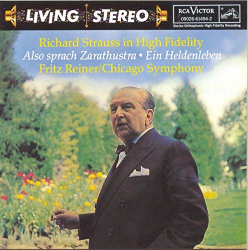 Price comparison product image Strauss: Also Sprach Zarathustra; Ein Heldenleben