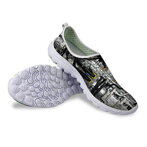 61ba8bd024e50 FOR U DESIGNS Fashion Women's Breathable Mesh Walking Trail Running ...