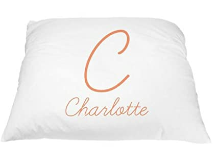 Amazon Personalized Lovely Font Pillowcase Monogrammed New Decorative Pillows For Teens