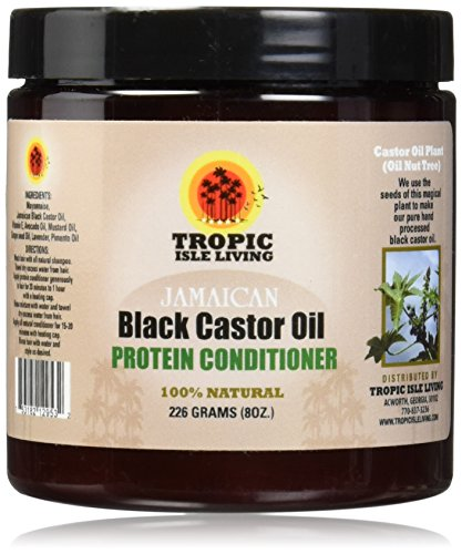 Jamaican Black Castor Oil Protein Hair Conditioner, 8oz (Natural Protein Treatment compare prices)