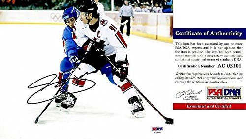 (Joe Sakic Autographed Signed TEAM CANADA 8x10 Photo - PSA/DNA Authentic - Colorado Avalanche 2x Stanley Cup Champion - 2012 Hall of Fame Inductee)