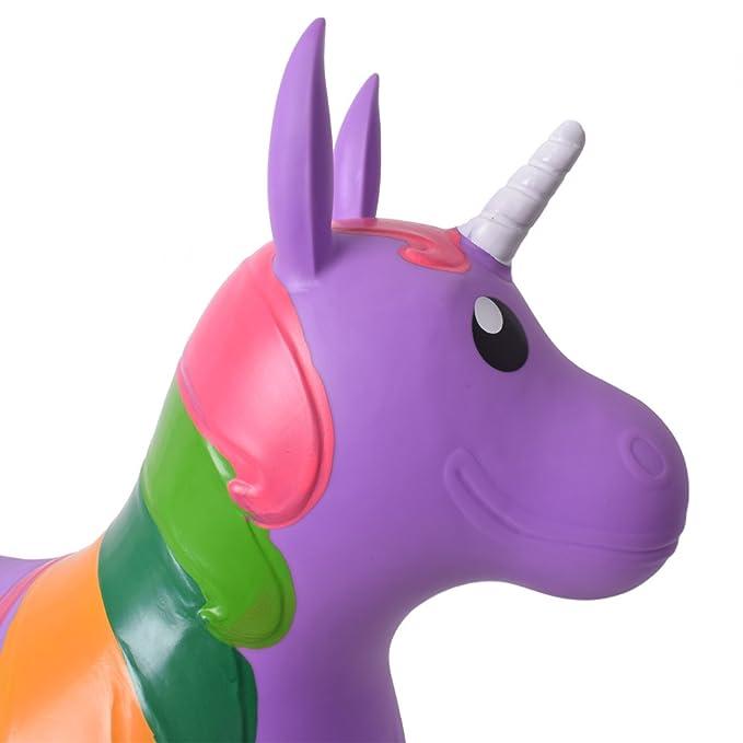 Multi-Colour Jamara 460316 Unicorn Bouncing Animal Toy