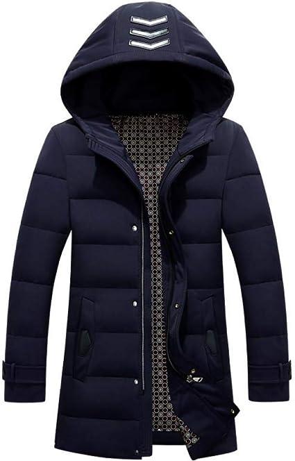 Hommes Veste Hiver Ultra Léger Manteau Chaud Épais à Capuche Doudoune Haut Neige