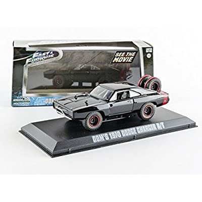 Greenlight 2014 Fast 7 - 1970 Dodge Charger R/T - Off-Road Version Die Cast Car (1:43 Scale): Toys & Games