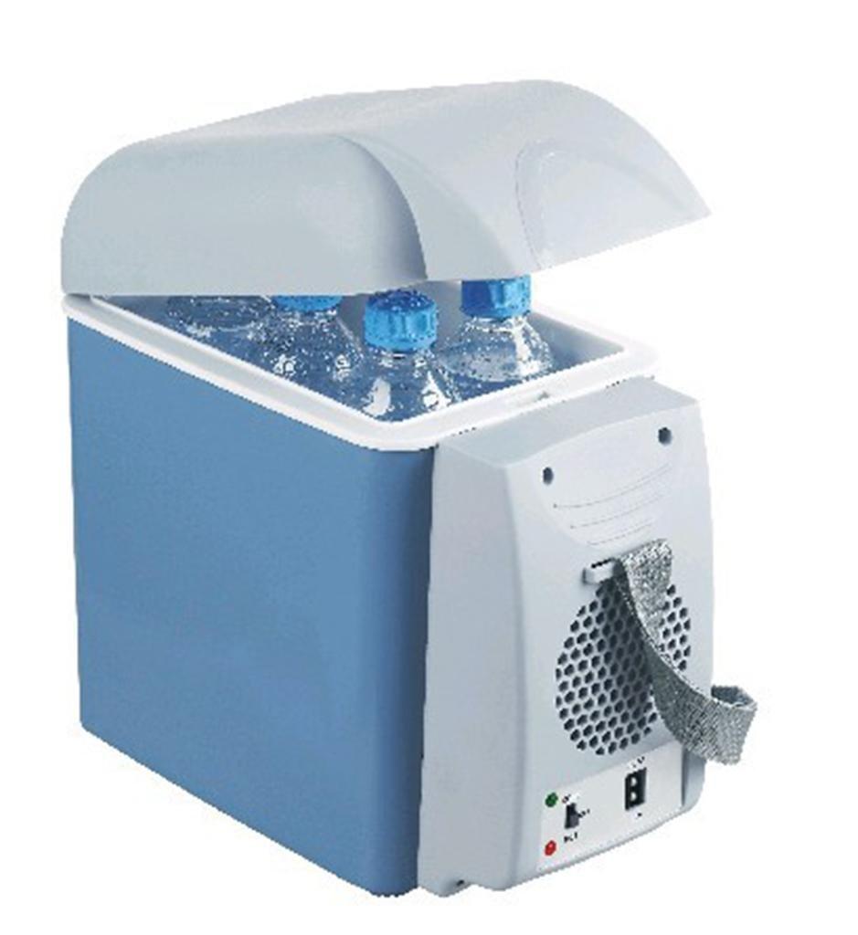 LonVe 7.5L Auto Kühlschrank, Tragbare Auto Kühlung und Heizung Box Mini Mini Kühlschrank Haushaltskälte für Auto Heimgebrauch, 17  31  31cm, 37W