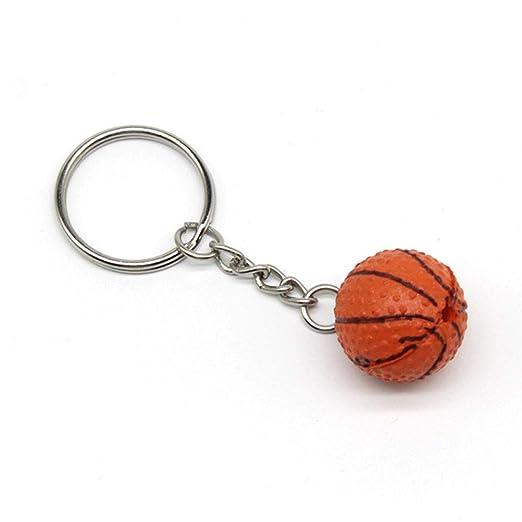 3 llaveros colgantes de pelota de baloncesto, cadena para ...