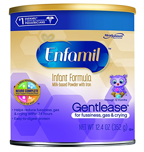 Enfamil Gentlease Powder, 12.4 Oz (Packaging May Vary)