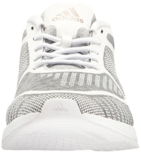 adidas Performance Frauen Athletics Bounce W Cross-Trainer Schuh Hellgrau Heather / Vapour Grey / White