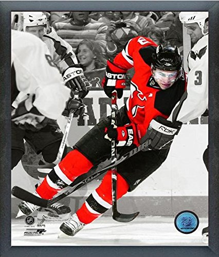 (Zach Parise New Jersey Devils NHL Spotlight Action Photo (Size: 12