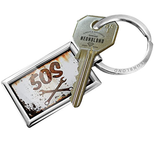 Keychain Rusty old look car 50s - NEONBLOND