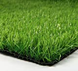Synturfmats Artificial Grass for Dog Decorative Synthetic Turf Runner Rugs, 2' x 4', Indoor/Outdoor Green