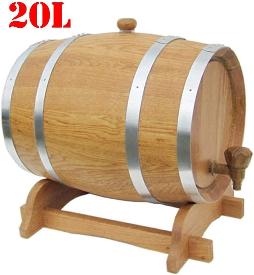 Madera Roble Barril De Vino, Madera Especial Dispensador De Barril De Vino Cubo De Almacenamiento Barriles De Cerveza Para Whisky Envejecimiento Barril Cerveza Ron Puerto,2