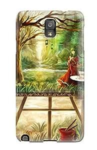 Galaxy Note 3 Artistic Print High Quality Tpu Gel Frame Case Cover