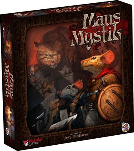 Asmodee Maus und Mystik - Grundspiel, Erzählspiel, Brettspiel, Deutsch