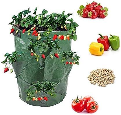 Garden Planting Grow Bag Potato Strawberry Planter Bags For Outdoor Vegetable