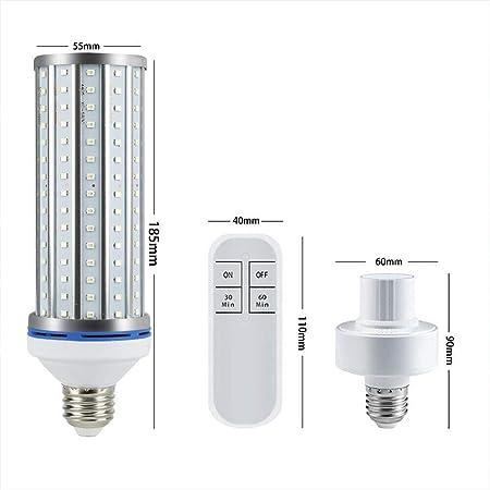 60W UV Germicidal Sterilizer Lamp LED E26 E27 Home Ozone Disinfection Light Bulb