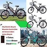 Hyuhome-Bici-elettriche-di-aggiornamento-2021-per-donne-adulte-fuoristrada-26-36V-250-350W-Batteria-al-litio-nascosta-agli-ioni-di-litio-rimovibile-Bicicletta-elettrica-da-montagna