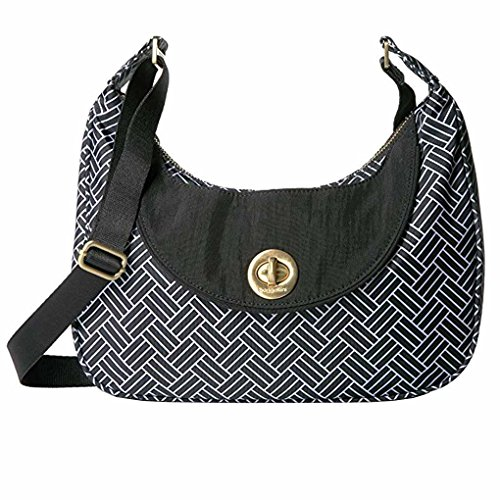 Baggallini Slick Oslo Hobo Bag Cross Body Purse with