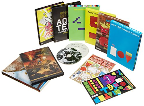 Aqua Teen Hunger Force 1-7 & Movie (Oversize Item Split, Back to Back Packaging, 16PC)