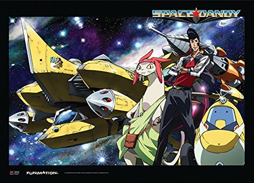 Officially Licensed Space Dandy: Dany and Crew of the Aloha