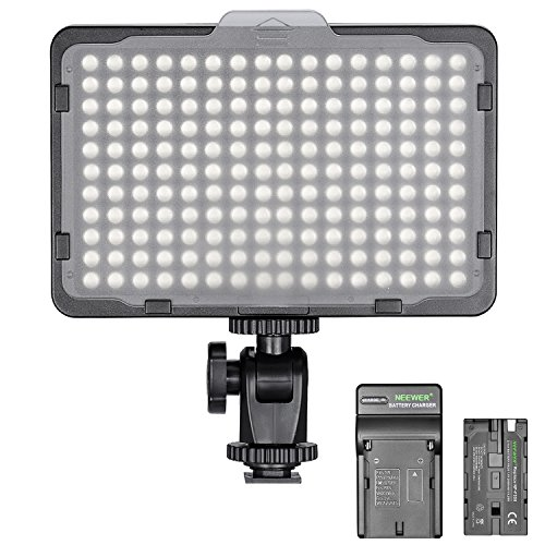 Neewer Dimmable 176 LED Video Light on