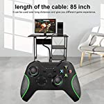 Wired-Controller-for-Xbox-One-Dual-Vibration-USB-Xbox-One-Wired-Game-Controller-for-Xbox-One-PC-Windows-7810-Black