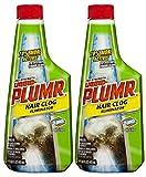 Liquid-Plumr Pro-Strength Clog Remover, Hair Clog Eliminator, 32 Fluid Ounces Total (Pack of 2)
