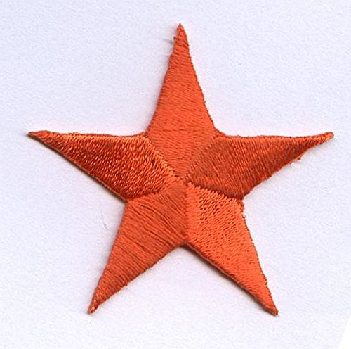 Orange PIECES Embroidered Applique Patch product image