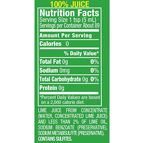 ReaLime 100% Lime Juice, 15 Fluid Ounce Bottle (Pack of 12) by Realime (Image #3)