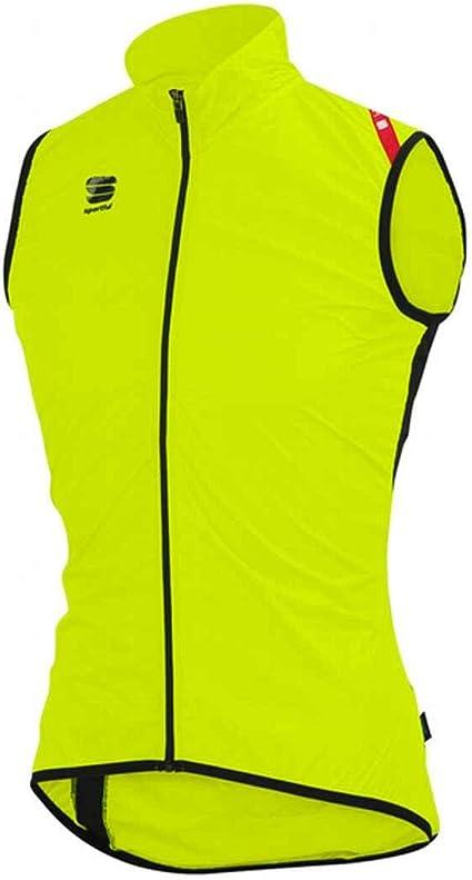 Sportful - Hot Pack 5 Vest, Color Amarillo,Negro, Talla L: Amazon.es: Deportes y aire libre