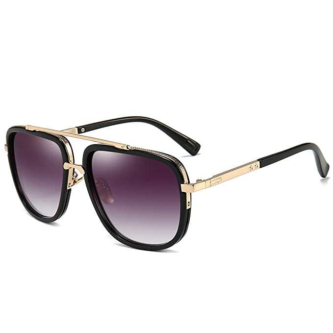 Amazon.com: Gafas de sol cuadradas de gran tamaño para ...