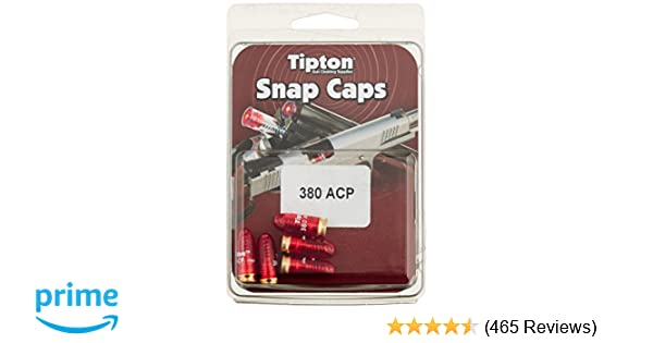 Tipton 337377 Snap Cap Pistol 380 ACP 5 Pack