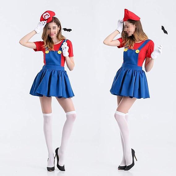WFLDD Halloween clothes Disfraz de Pirata para Mujer: Amazon.es: Hogar