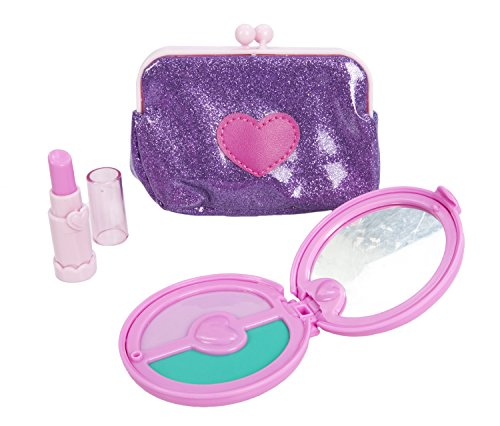 Play Circle by Battat Princess Purse Set – 8-piece Kids Play Purse and Accessories – Pretend Play Purse Set Toy with Pretend Makeup For Kids Age 3 Years and Up