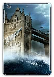 London Tower Bridge Wave Custom Soft Case Cover Protector for Apple iPad Mini with Retina Display / iPad Mini Retina/ iPad Mini 2