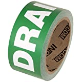 """INCOM Manufacturing Group PMR1028F Pipe Marking Tape, 2-Inch X 54-Feet,""""Drain"""""""