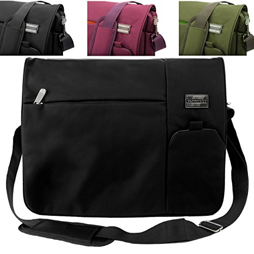 Italey Everyday Laptop Tablet Carrying Messenger Bag  For HP