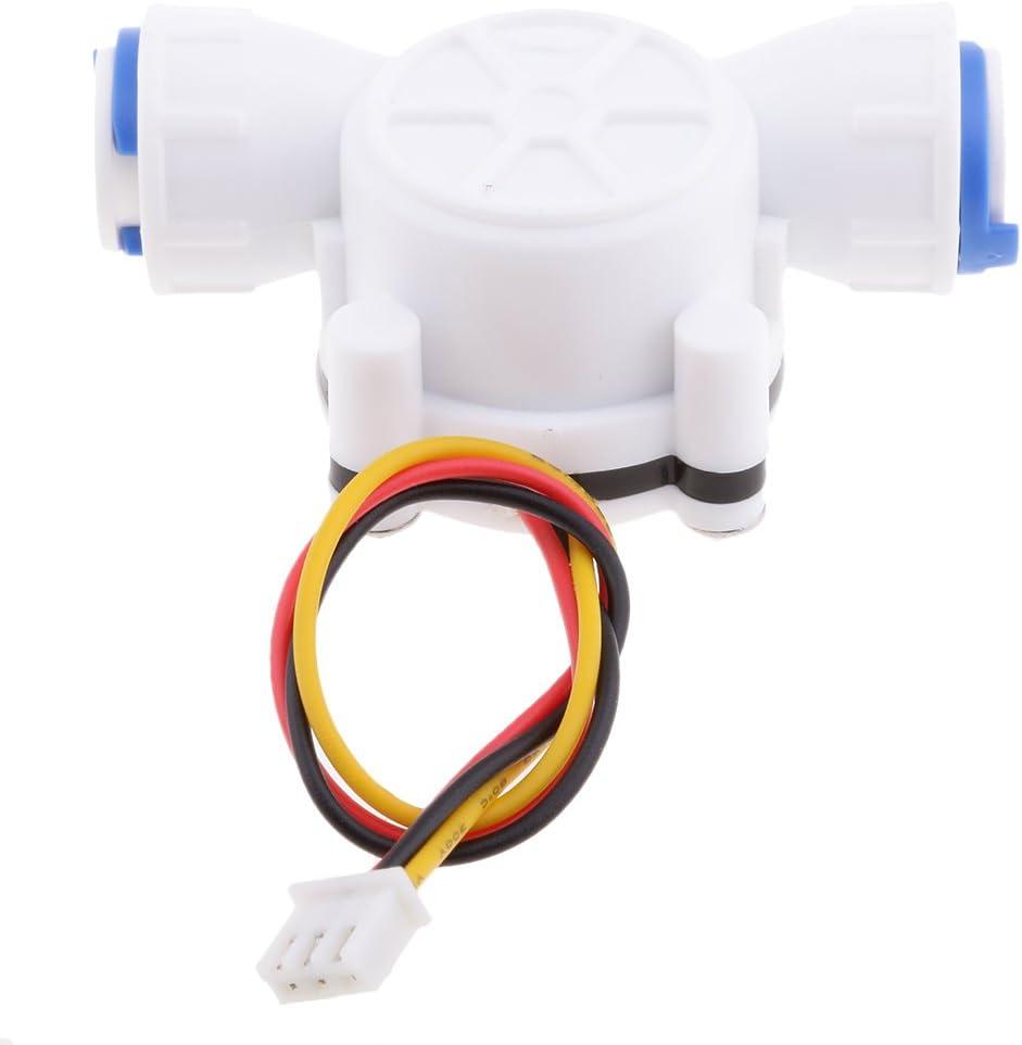 0,3 10L Min Wasserdurchflusssensor Durchflussmesser Hall Durchflusssensor