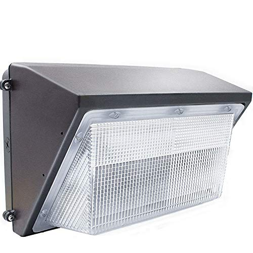 150W LED Wall pack Light,ETL List,18000lm and 5500K Super Bright White Outdoor Wall Pack LED Security Light,600-800W HPS Metal Halide Bulb Replacement (150Watt)