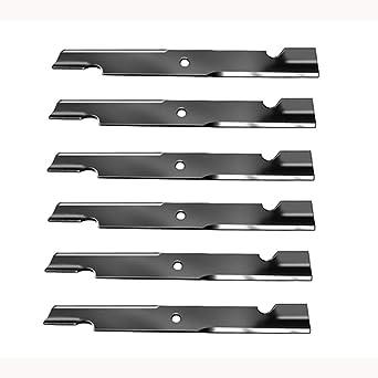 Amazon.com: (6) Exmark Lazer Z AC AS LC XP XS - Cuchillas ...