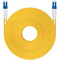 HiFiber OS1/OS2 LC to LC Fiber Patch Cable 9/125 Singlemode Duplex , LSZH, 30-Meter(100ft)