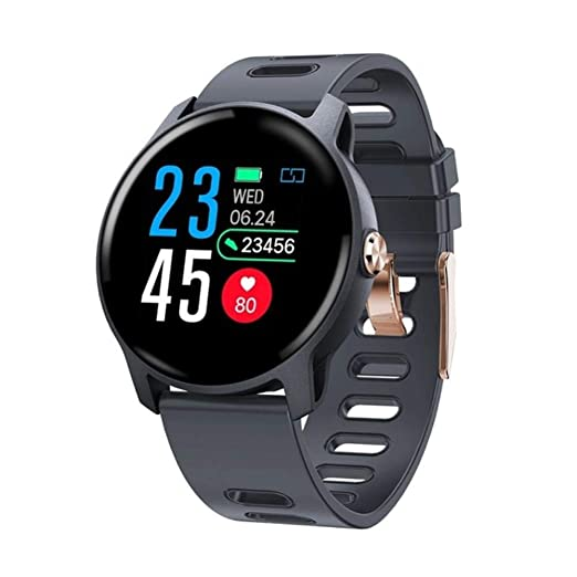 Men Sports Smart Watch IP68 Waterproof Fitness Tracker Heart Rate ...