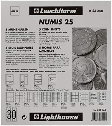 NUMIS Album Pages NH30 Currency Coins Collection Album Sheets LIGHTHOUSE 323463