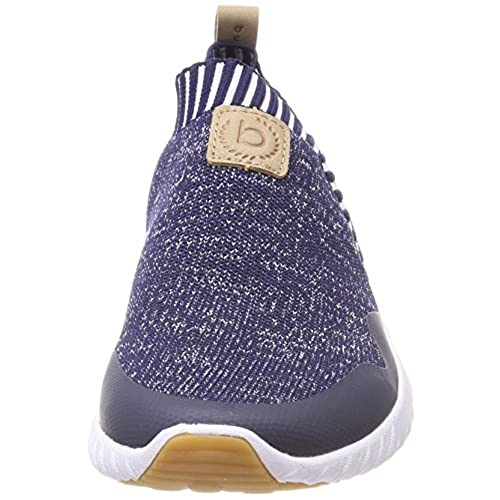 outlet store 97d10 c16e8 Bugatti Women Flat Slipper Blue, (Blue/Sand) 441393616935-4053
