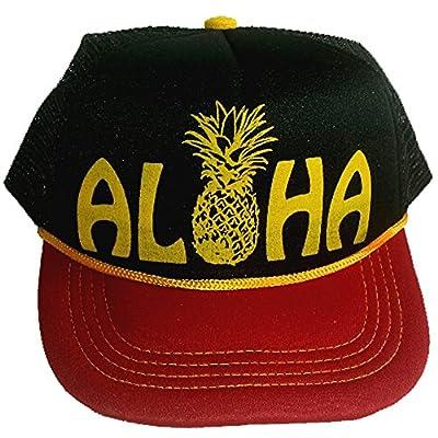 3-24 months Baby Infant Child Aloha Pineapple Mesh Trucker Hat Cap Snapback Hawaii
