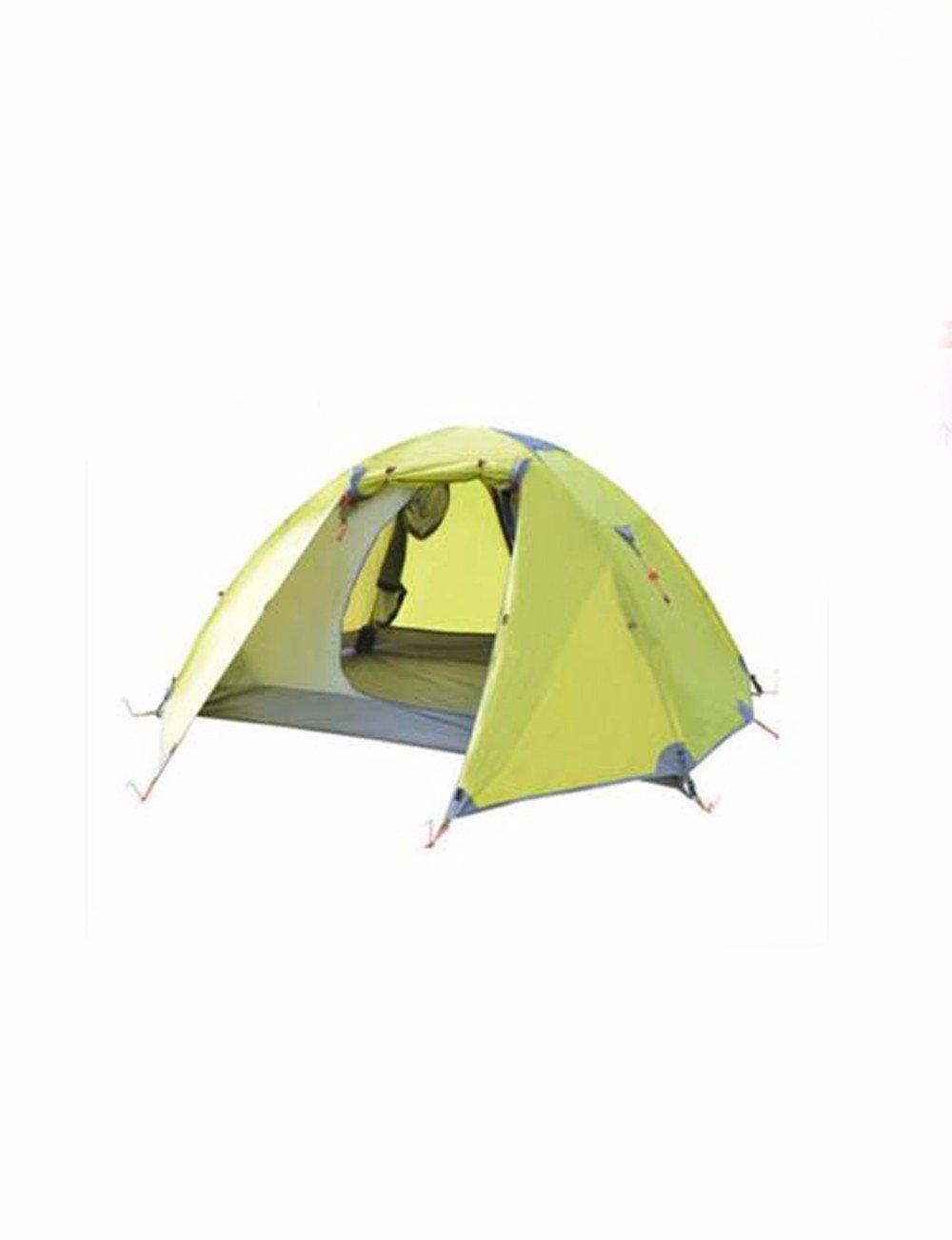 SJQKA-zelte, outdoor - 2 personen, freizeit camping camping - touren, vier - jahreszeiten - konto, doppelten wasserdicht zelte,grüne