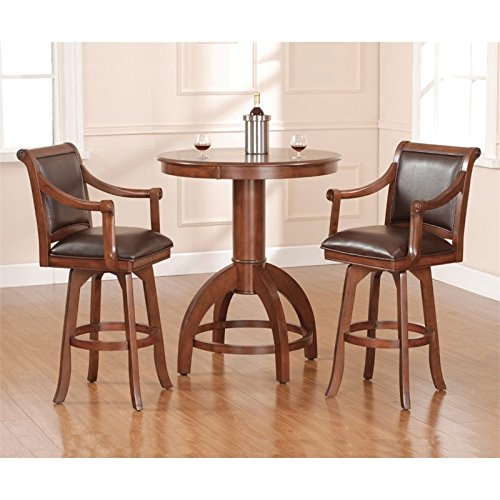 Hillsdale Furniture Palm Springs 3pc Pub Set